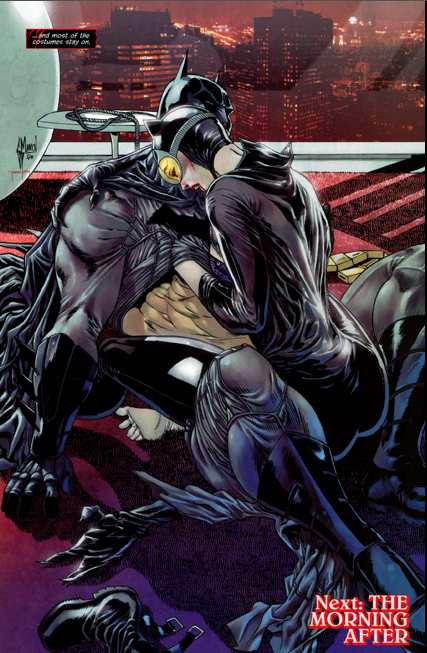 Catwoman the hyper sexualisation